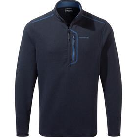 Craghoppers Bronto Halv lynlås-skjorte Herrer, blå